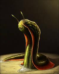 Mr. Slug by Bonekrishna