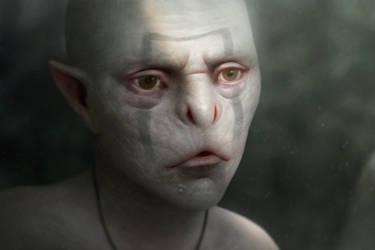 Nonhuman by Bonekrishna