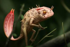 Pygmy Basilisk by Bonekrishna