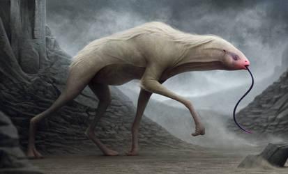 Pale Strider by Bonekrishna