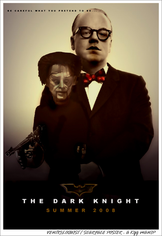 P.S. Hoffman as Ventriloquist by kyg
