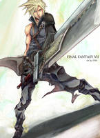 Cloud Strife Color by FF69