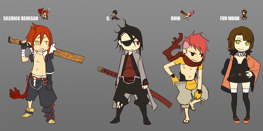 RPG MAKER XV characters by FF69 on DeviantArt