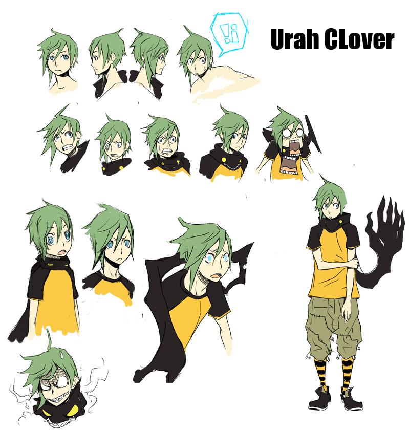Urah Clover Designs by FF69