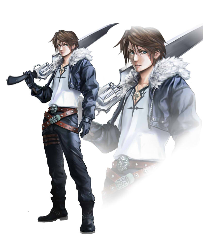 Squall Leonhart By Ff69 On Deviantart