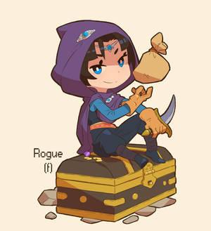 Blaze and Blade Rogue f