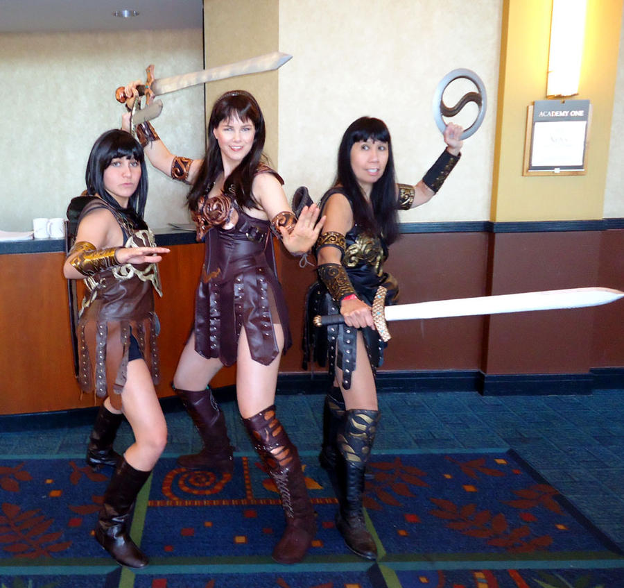 xena costume  xena cosplay at xena con 2012 by xenawannabeHow To Make A Xena Costume