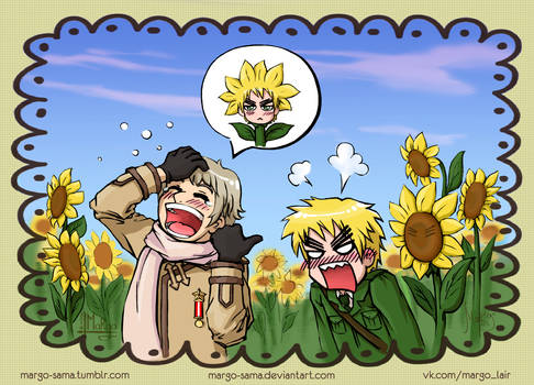 [APH] You look like a sunflower, part 1