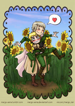 [APH] You look like a sunflower, part 2