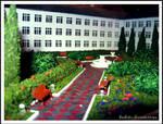 Model of the public garden-1 by Margo-sama