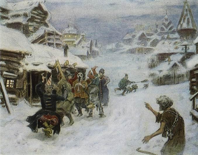Vasnetsov Skomorohi by Margo-sama