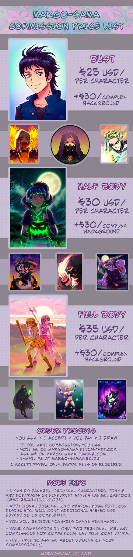 [OPEN] Commissions Info [Paypal]