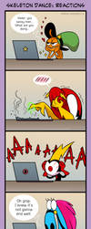 [WOY] Skeleton Dance: Reactions by Margo-sama