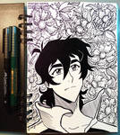 [Inktober] [VLD] Day 1 - Keith