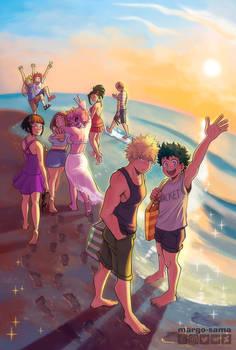 [BNHA] Summer and Sun zine