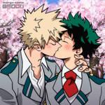 [BNHA] The Kiss