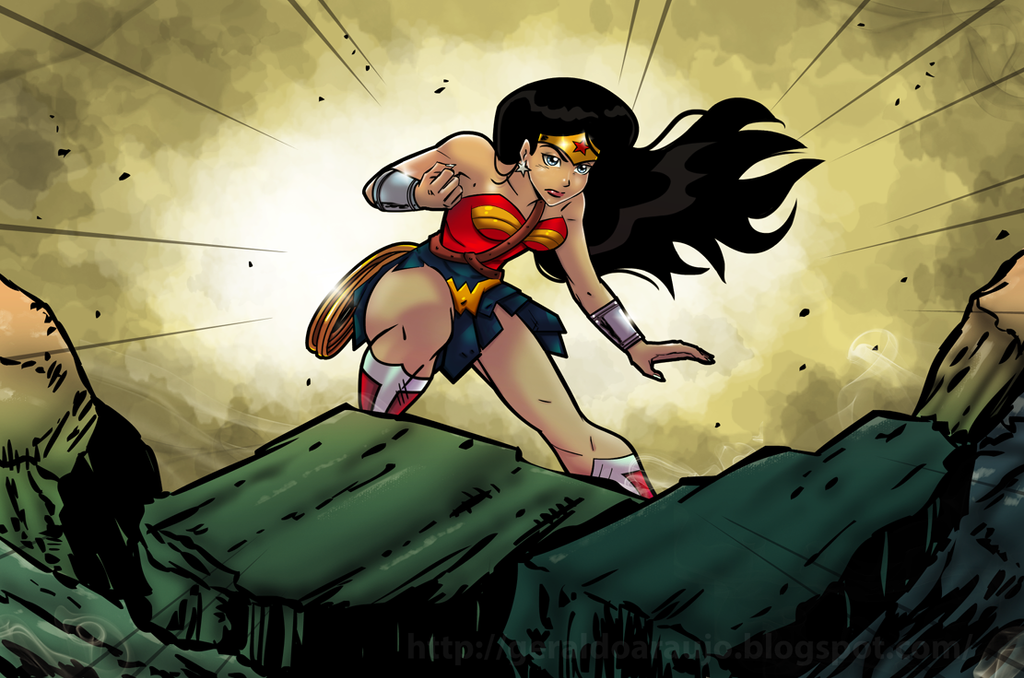 Wonder Woman by geraldoaraujo