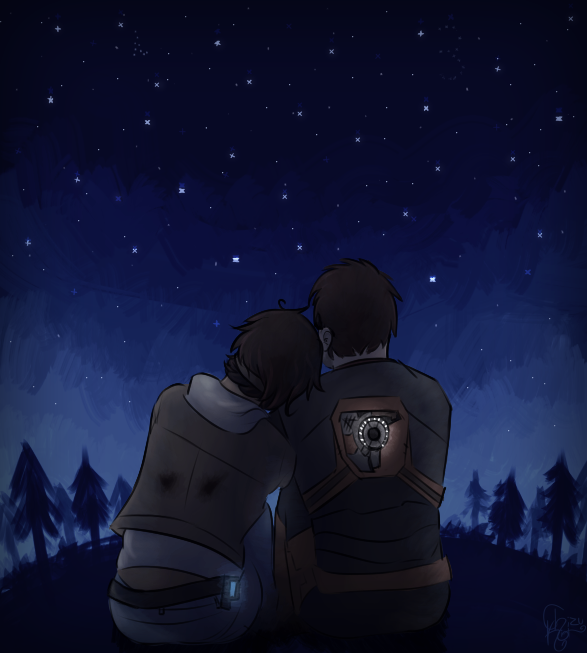 Stargazing by C-H-I-Z-U