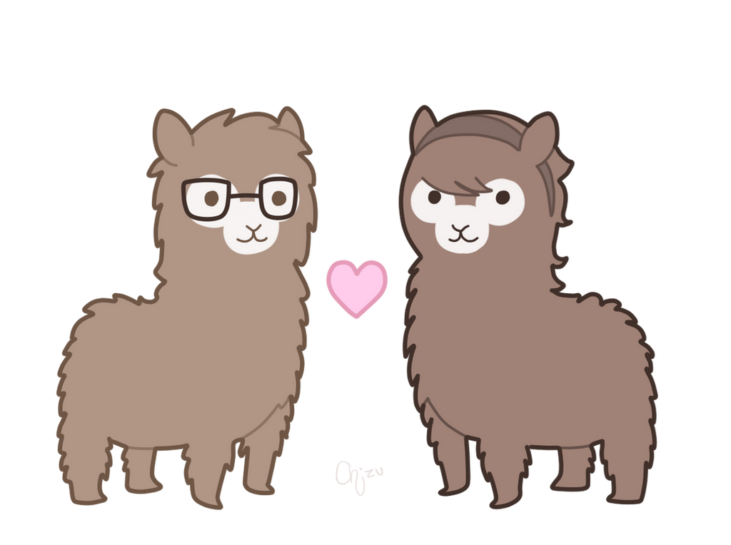 Cute alpaca drawings images for A cute drawing
