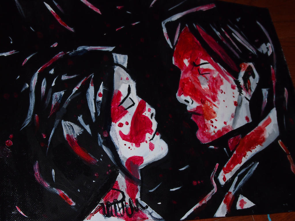 Three Cheers For Sweet Revenge Painting By Flymetoamoon On Deviantart