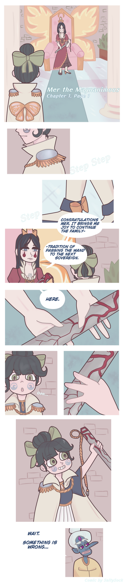 Mer the Magnanimous V1 Chapter 1 Page 1.