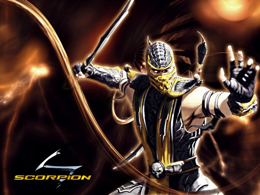 Scorpion MK9 wallpaper by deexie on DeviantArt
