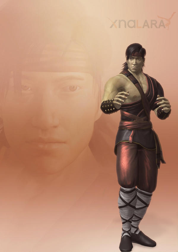 XNALara - Liu Kang (alternate) by deexie
