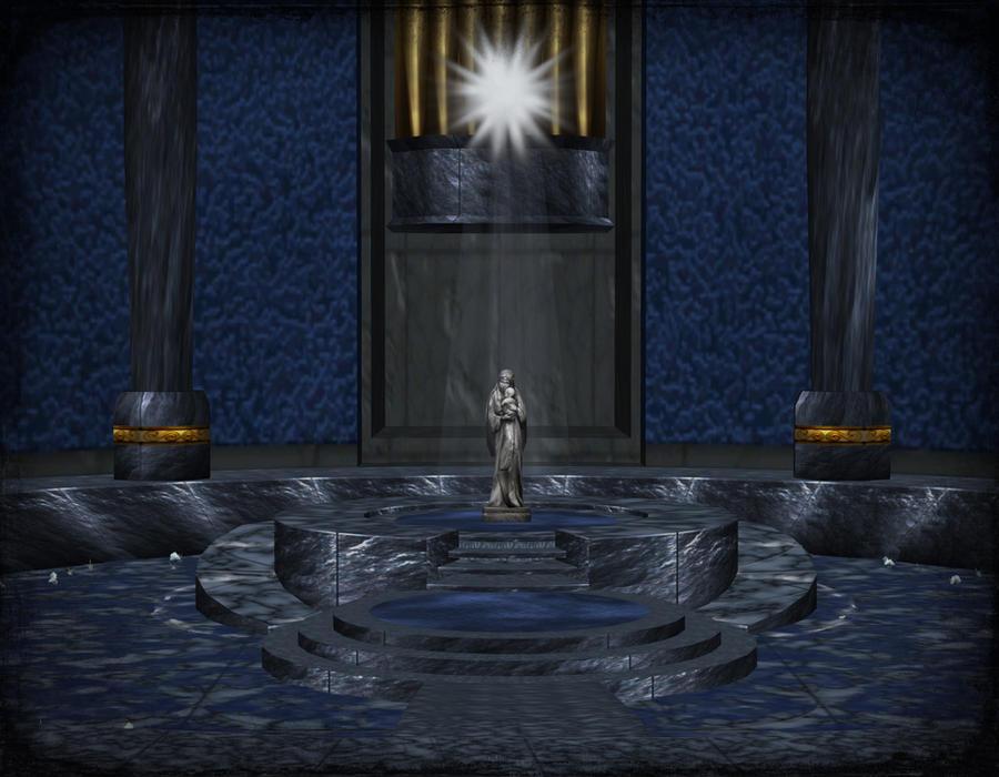 Goddess Room (scenery) by deexie