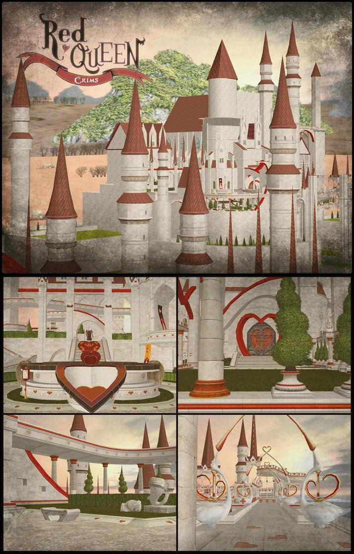 XNALara - Crims Castle (AIW) by deexie
