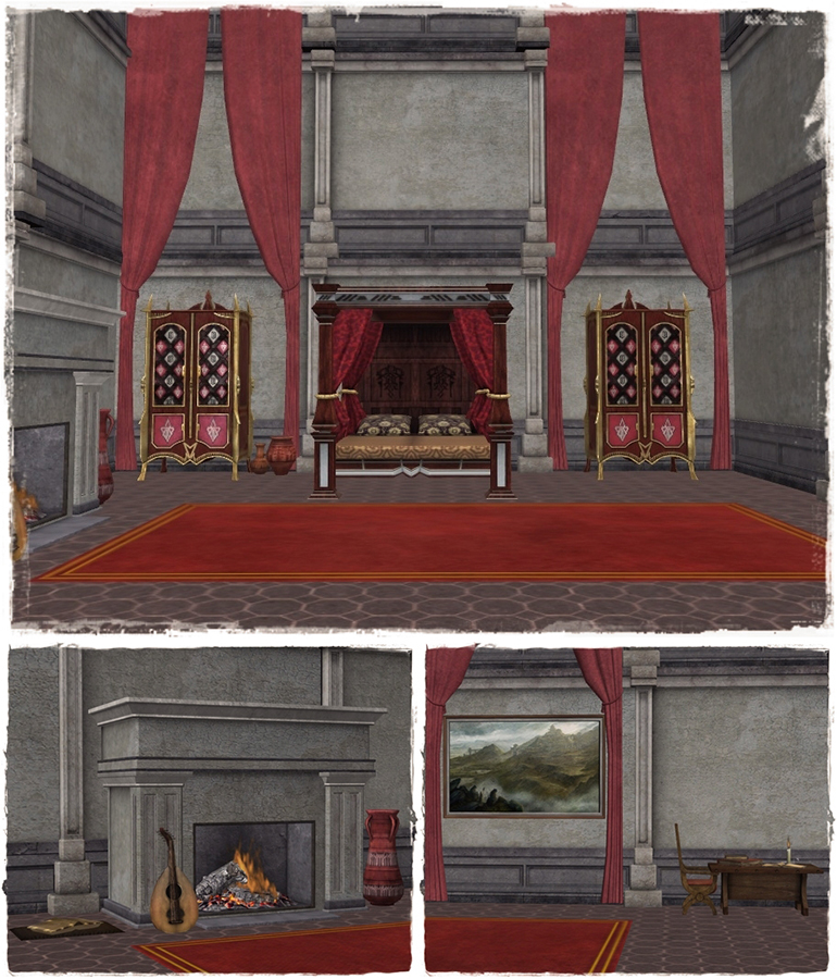 Hawke's bedroom (DA2) by deexie