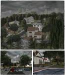 Neighborhood scenery