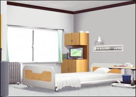 Hospital Room by deexie