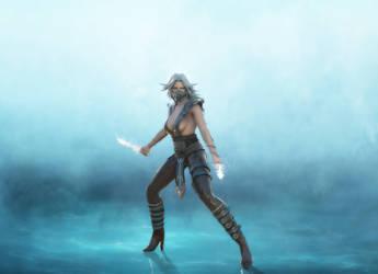 MK Frost (revamped) Render by deexie