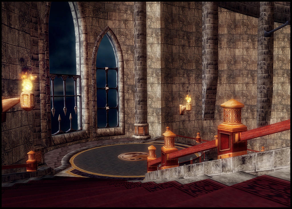 Outworld Spire (MKA) by deexie