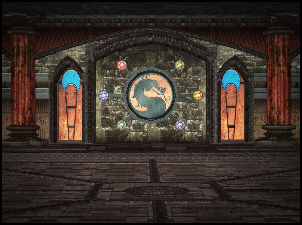 Shinnok's Spire by deexie