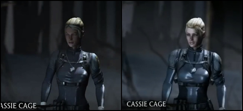 Cassie Old vs New by deexie