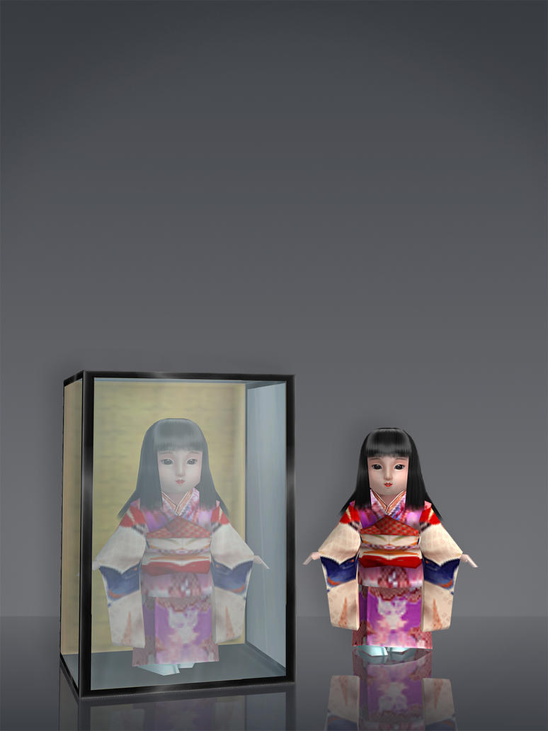 Traditional Japanese Doll by deexie