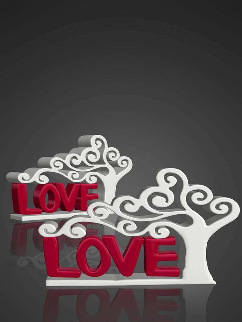 Love Figurine [XPS] by deexie