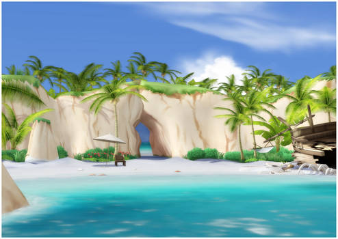 Tropical Island [XPS]
