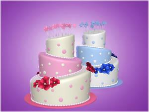 Festive Cake [XPS]