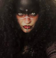 Goth Tribal makeup