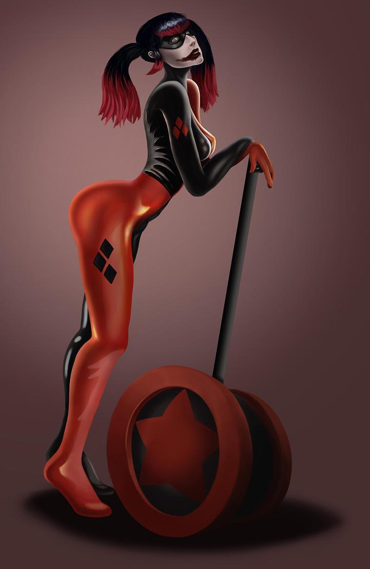Harley Quinn by vitrugo