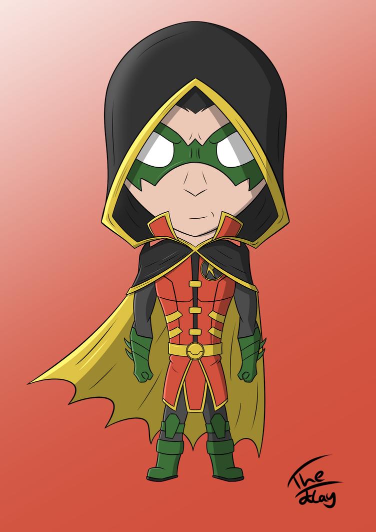 Robin On Teen Titans 9