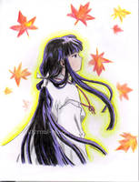 Kikyo by eternal-bluemoon
