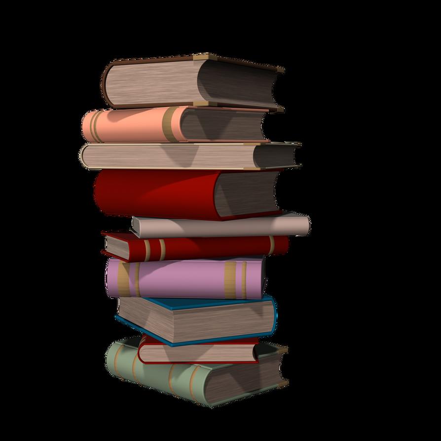 Books01 by DarklingStock
