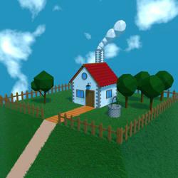 Casa en la colina (nueva version diurna)