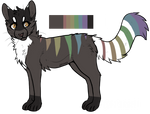 Rainbow Feline Adopt (Auction) closed by Shadowhawk-Adopts