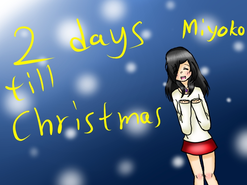 2 Days Till Your Birthday 2 Days Till Christmas by