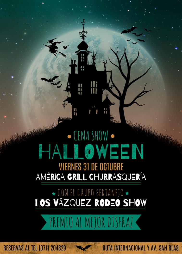 Halloween Flyer by Pixelaze on DeviantArt