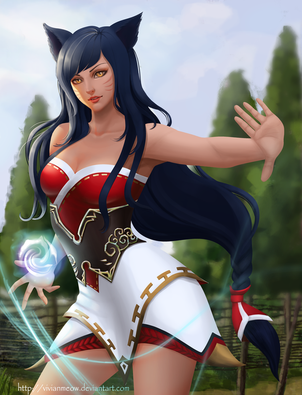 Ahri - LOL by VivianMeow